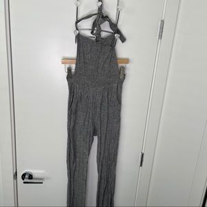 🐾free w/purchase🐾 grey marbled fabric jumpsuit